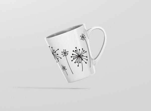 Hrnicek latte odkvetajici pampelisky