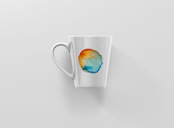 Hrnicek latte se jmenem vodovky oranzovomodry