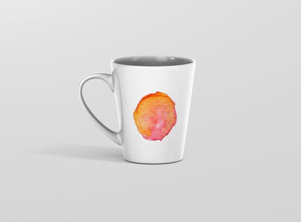 Hrnicek latte se jmenem vodovky oranzovy