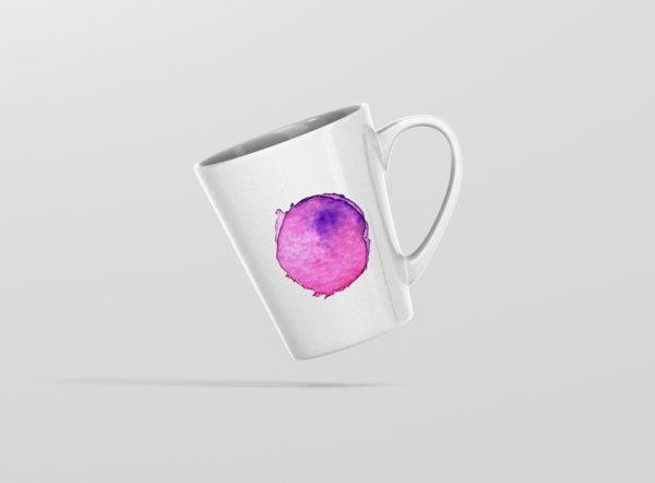 Hrnicek latte se jmenem vodovky ruzovy