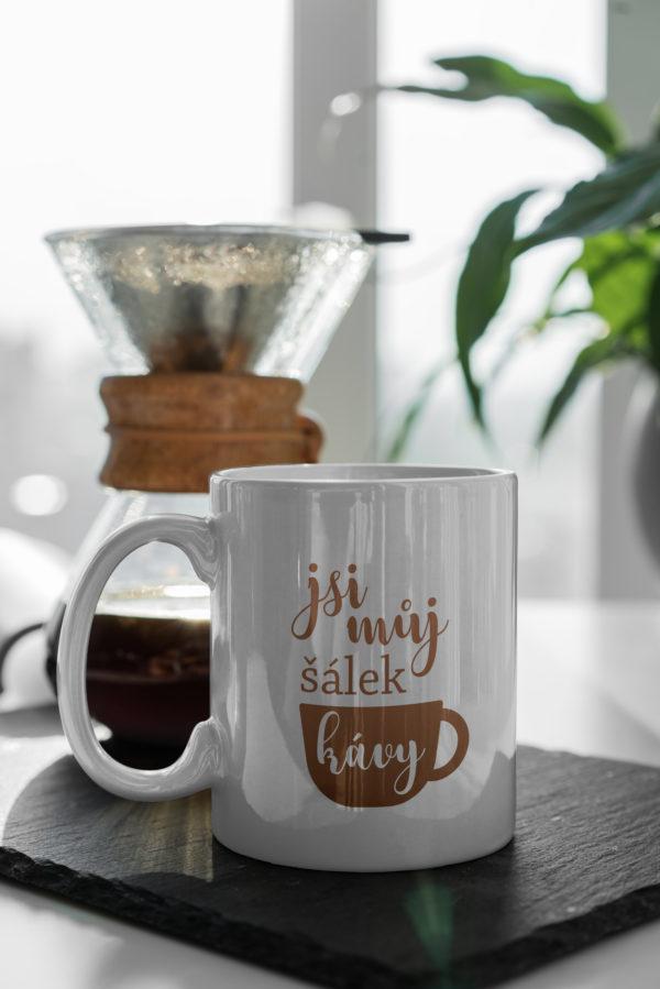Hrnicek s potiskem jsi muj salek kavy zatisi