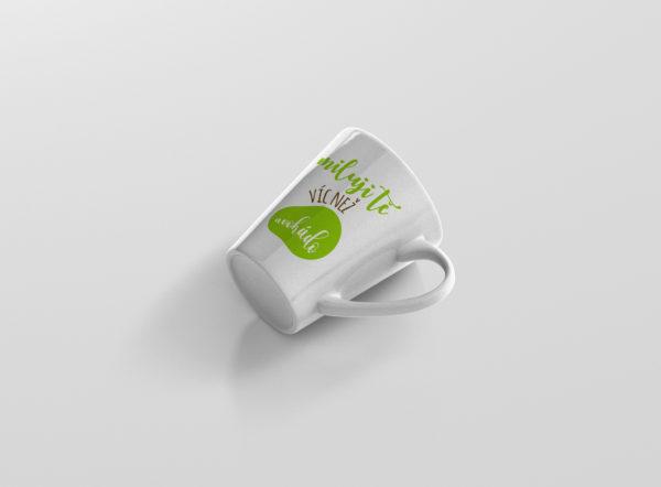 Hrnicek s potiskem miluji te vic nez avokado latte