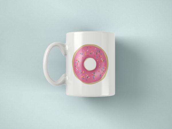 Hrnek s potiskem Donut